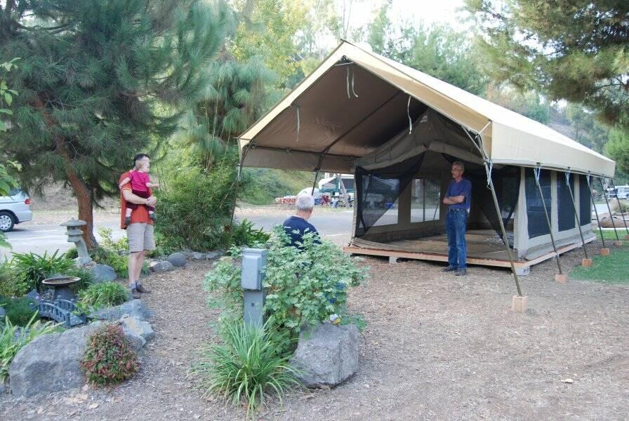 Tent Lodges Tioga Tours