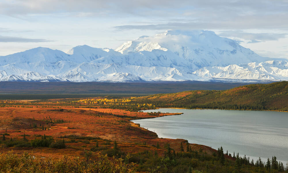Mount Denali in Alaska