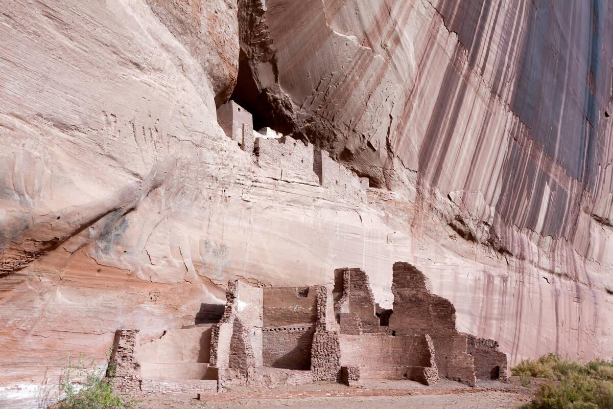 White House Ruin, Canyon de Chelly National Monument, Arizona загрузить