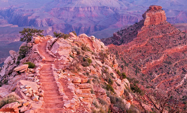 Kaibab Trail in Grand Canyon National Park