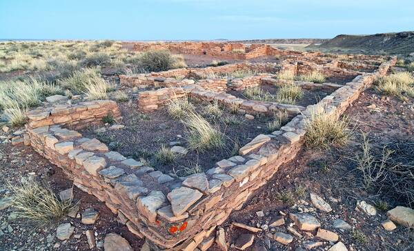 Puerco Pueblo, Petrified Forest National Park