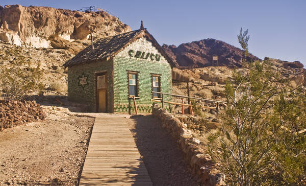 Calico Ghost Town nabij Barstow