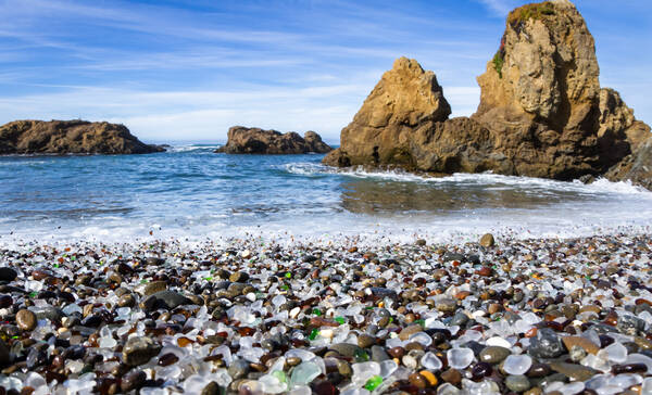 Glass Beach, Californië