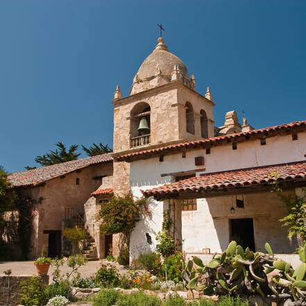 Mission Church in Carmel