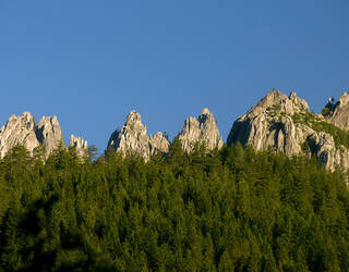 Castle Crags State Park, Californie