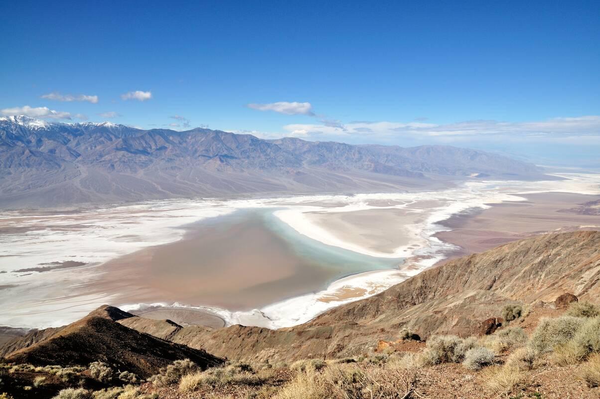 Bezienswaardigheden Death Valley