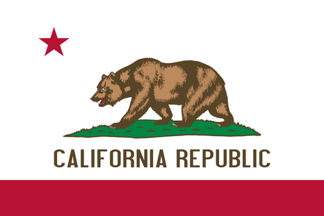 Vlag Californie