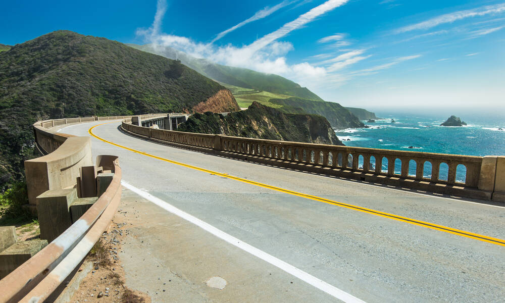 Highway1 Californie Bixby Creek Bridge