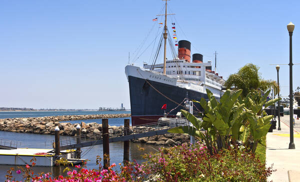 Queen Mary, Long Beach Californie