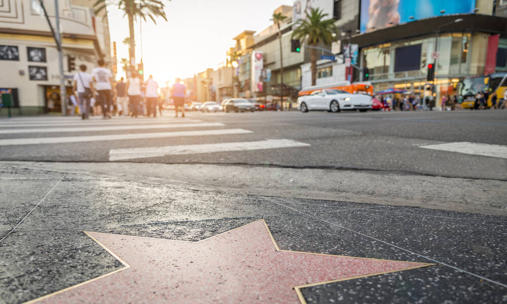 Walk of Fame, Sunset Boulevard, Los Angeles