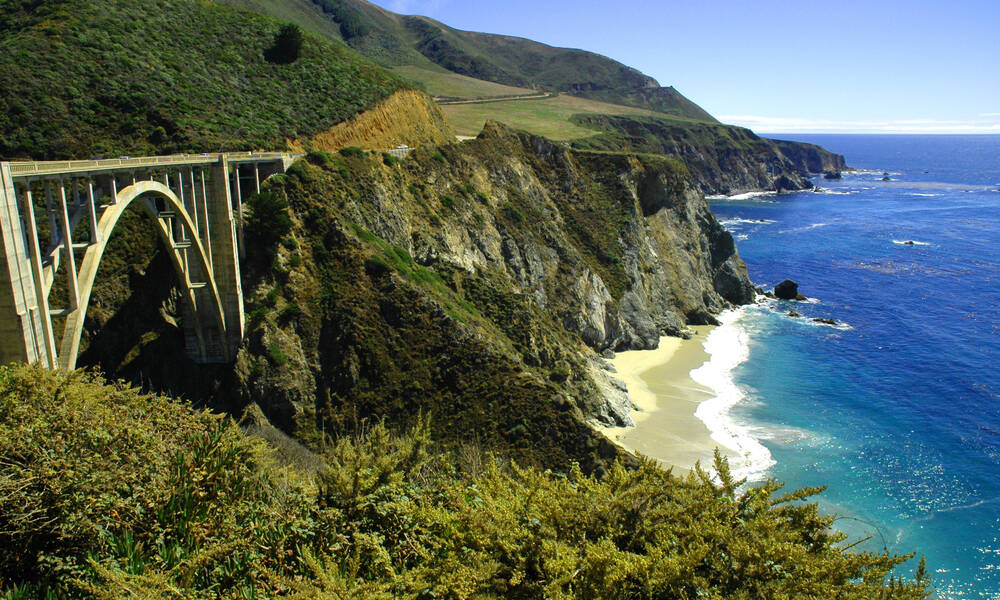 Bixby Creek Bridge Highway 1