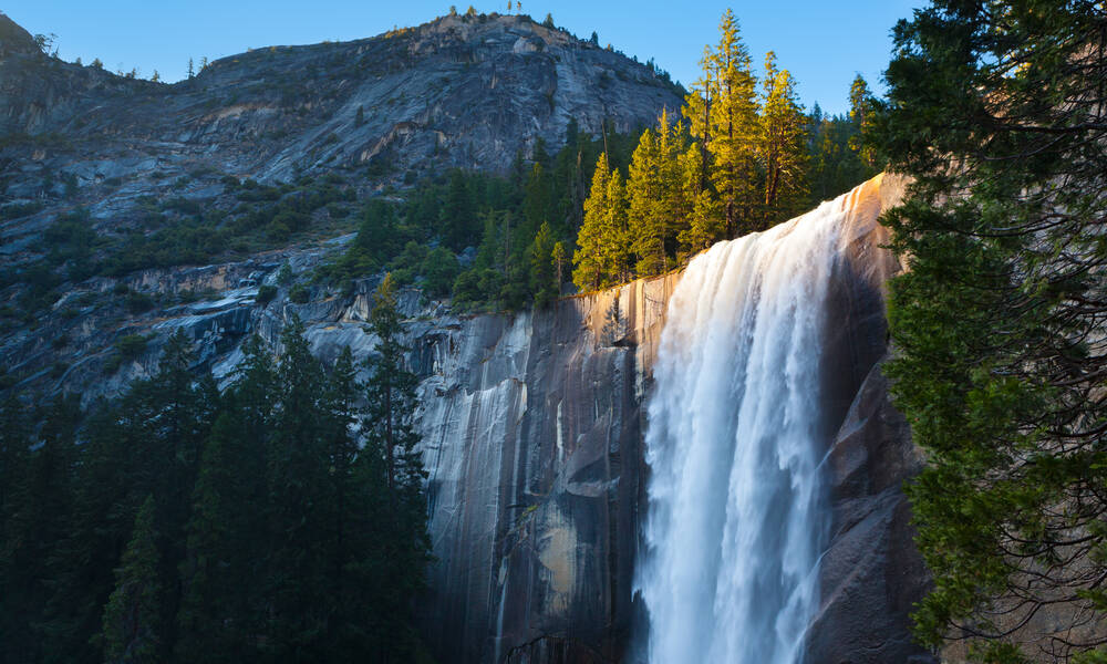 waterval yosemite national park