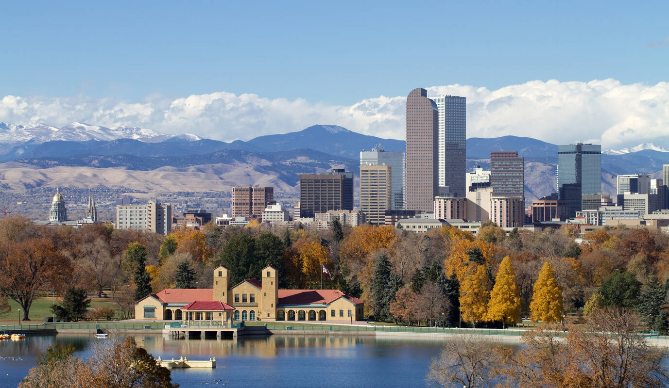 Bezienswaardigheden denver colorado tioga tours for Best small cities to live in colorado