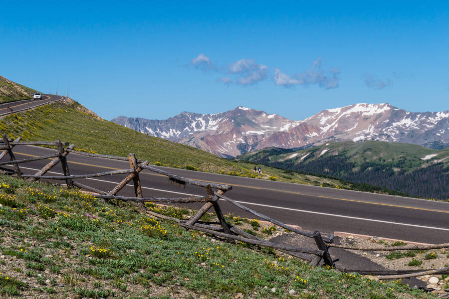 Rocky Mountain Trail Ridge Road
