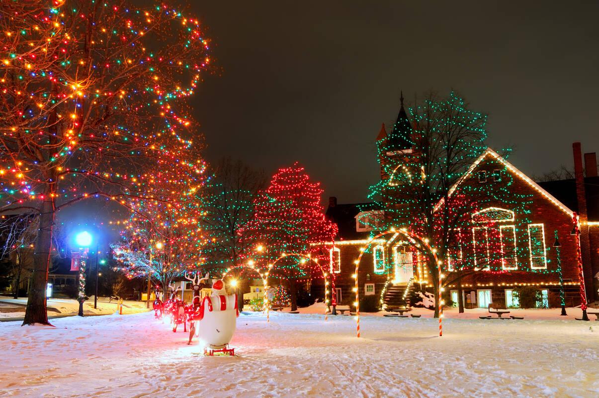 Christmas Tioga Tours