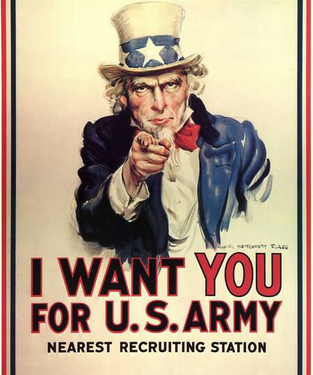 Poster van Uncle Sam