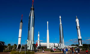 bezoek kennedy space center