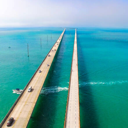Seven Miles Bridge, The Keys