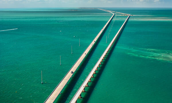 Seven Mile Bridge, Overseas Highway, Florida Keys
