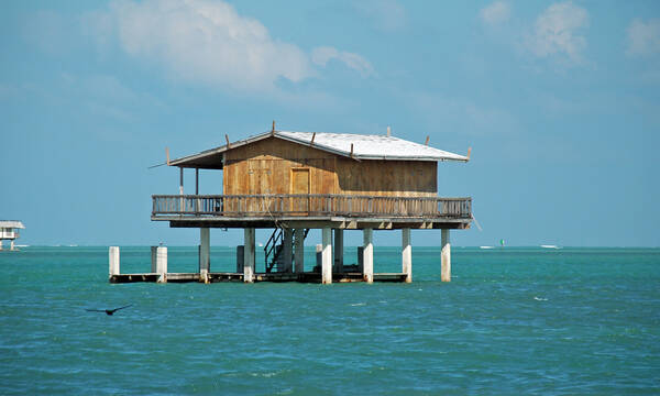 Stiltsville, Miami, Florida
