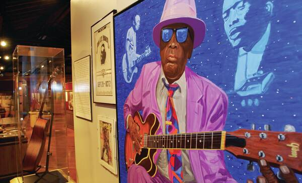 The Delta Blues Museum, Clarksdale, Mississippi