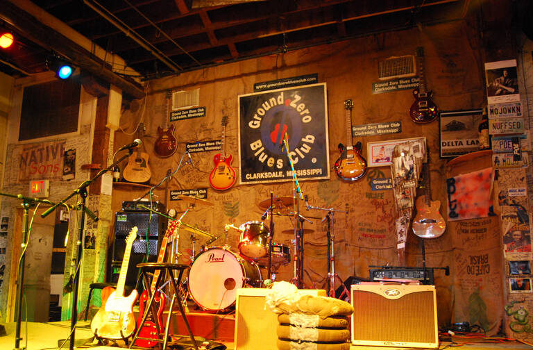 Ground Zero Blues Club, Clarksdale, Mississippi