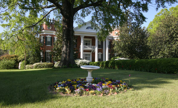 Walter Place is een van de plantagehuizen in Holly Springs Mississippi