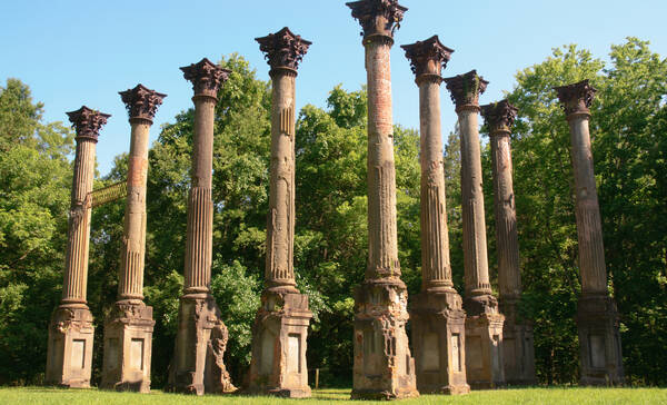 Port Gibson Windsor Ruins
