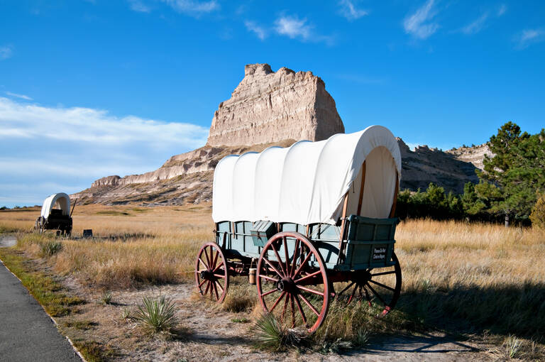 Scottsbluff met National Monument