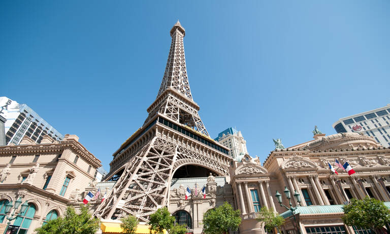 Las Vegas Nevada Strip Hotel Paris