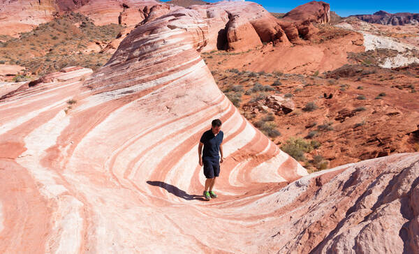 Valley of Fire State Park, Fire Wave