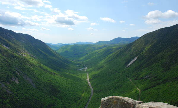 White Mountains, staatspark Crawford Notch