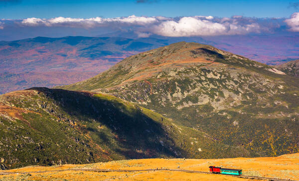 Cog Railway, populaire treinroute in New Hampshire
