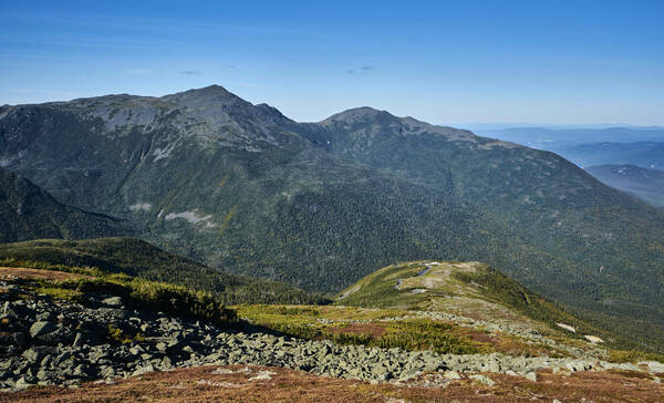 White Mountains, hoogste berg van noordoost Amerika is Mt Washington