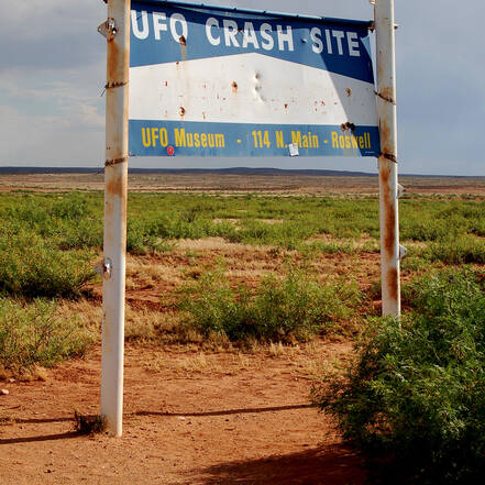 UFO crash site, Roswell