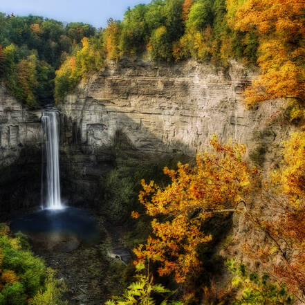 Taughannock Falls State Park Finger Lakes New England