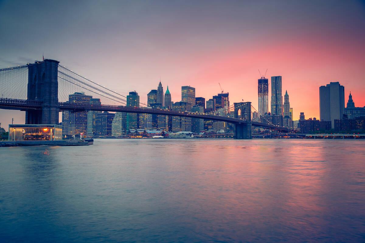 Bouwwerk brooklyn bridge in new york new york for The best of new york
