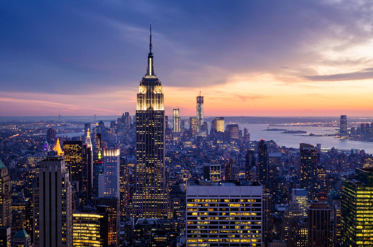 Belangrijke Gebouwen New York.Bezienswaardigheden New York Tioga Tours