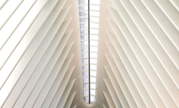 WTC station Oculus in New York City