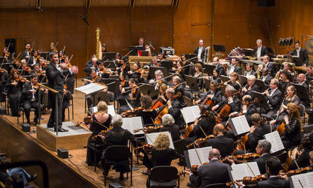New York Philharmonic treedt op