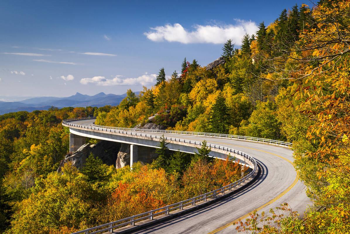 The Blue Ridge Parkway 45