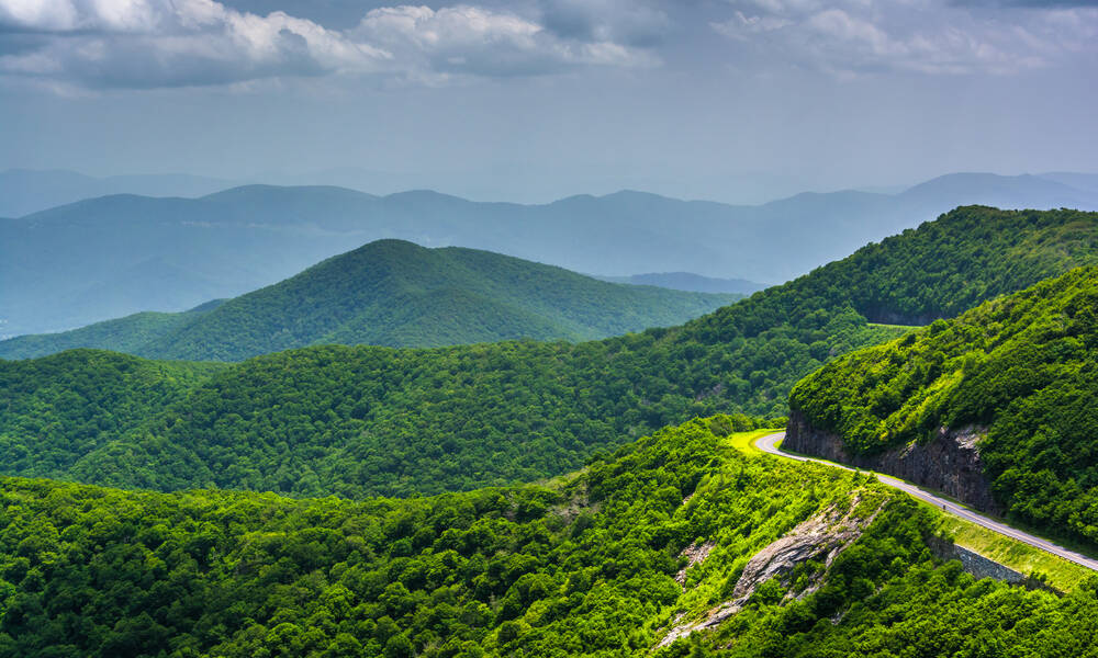 Scenic Drives Blue Ridge Parkway Tioga Tours