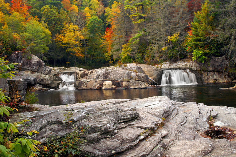 Linville Falls North Carolina