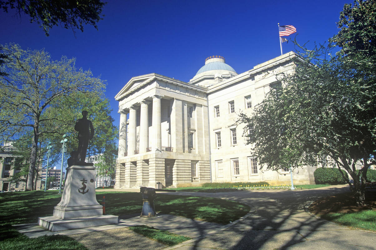 The Raleigh Capitol Tours