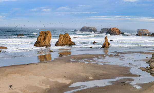 Bandon Beach bij Coos Bay