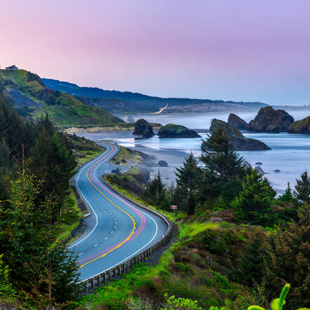 Route 1 langs de Oregon Coast