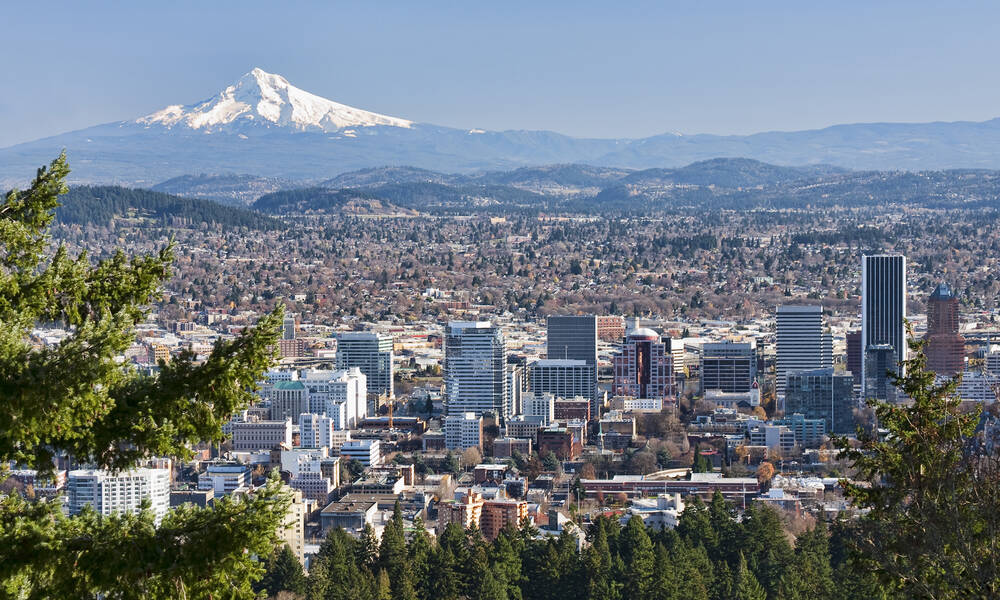 Mt Hood in Portland, Oregon