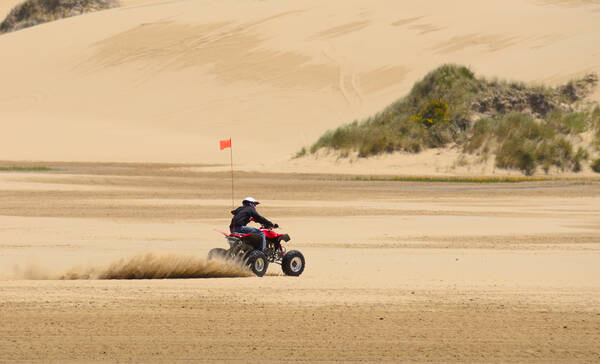 Oregon Dunes Narional Recreation Area bij Coos Bay