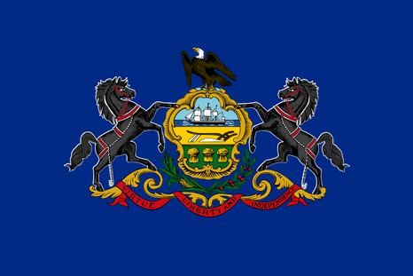 Vlag Pennsylvania