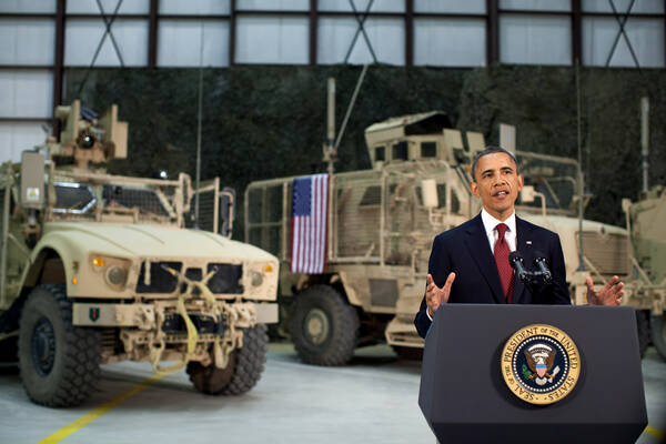 Obama in Afghanistan 2012